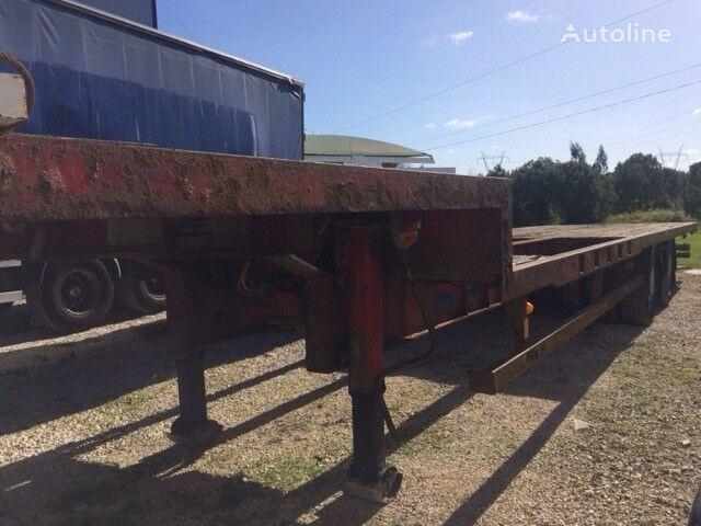CORUS Low Loader 2 axles platform semi-trailer
