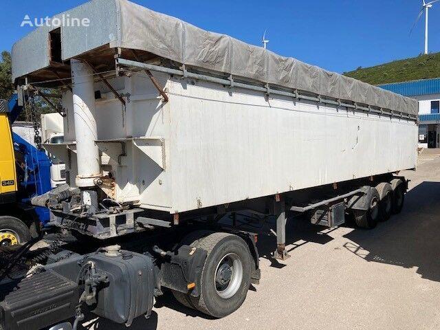 STAS / Kipper Trailer 50 m3 / tipper semi-trailer