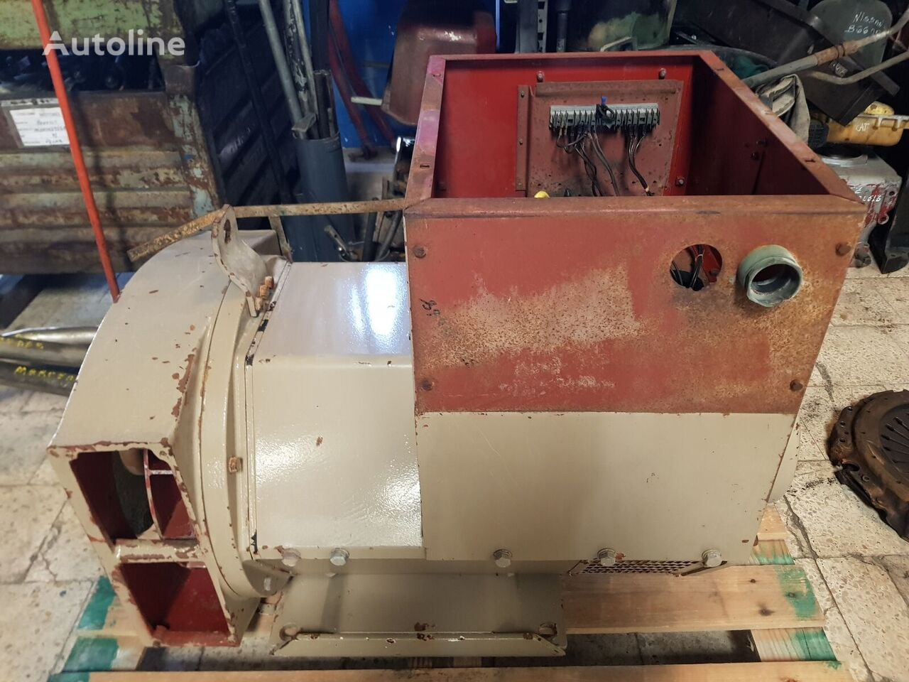 STAMFORD 175 KVA alternator for other construction machinery
