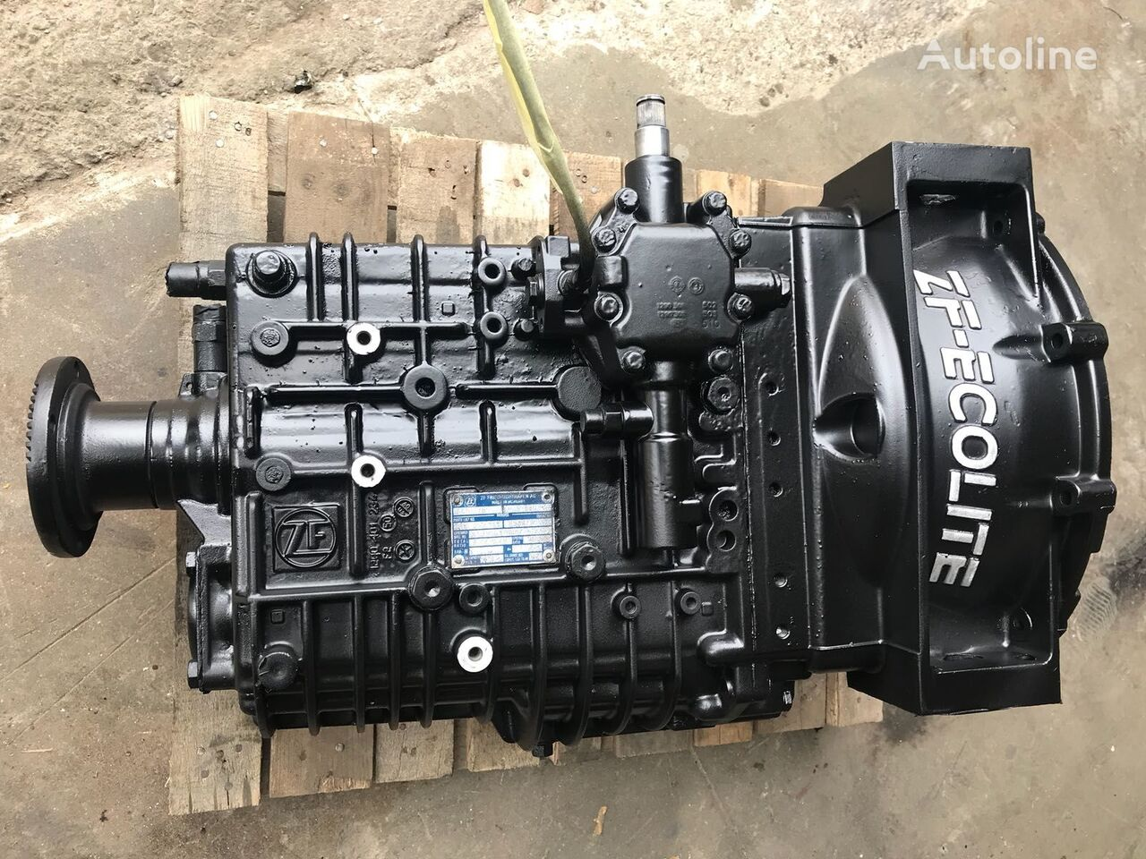 ZF 6S850 gearbox for bus