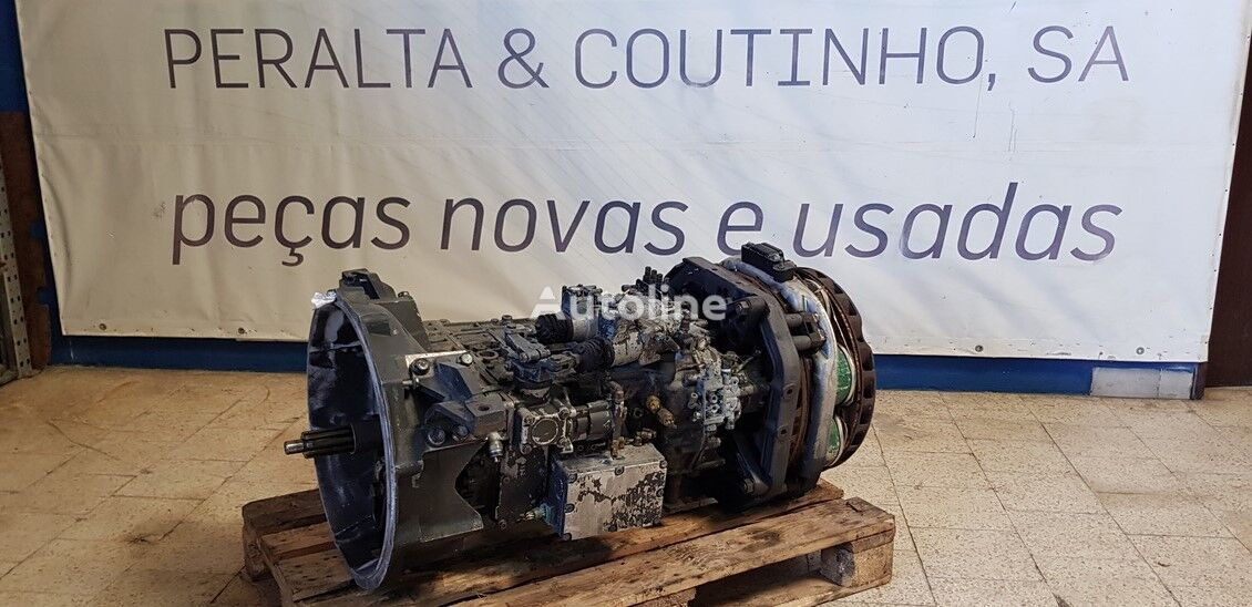 ZF 8S180 Gearbox 81320036212 8S180 Ecomid Getriebe 1304054269 gearbox for truck